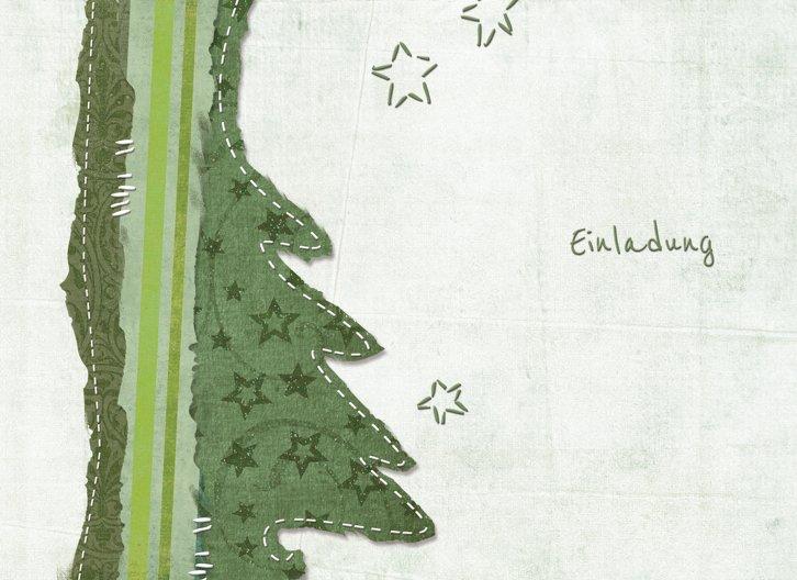 Ansicht 3 - Einladung Stoffbaum
