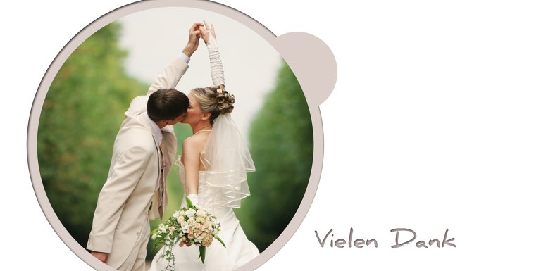 Ansicht 4 - Hochzeit Dankeskarte wedding harmony