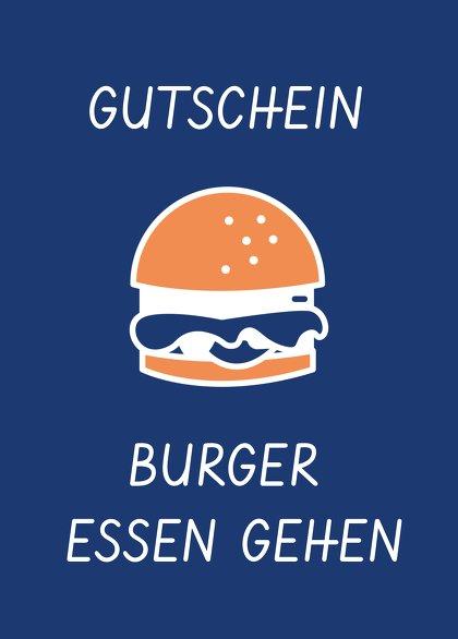 Ansicht 2 - Gutschein zum Geburtstag Burger essen gehen