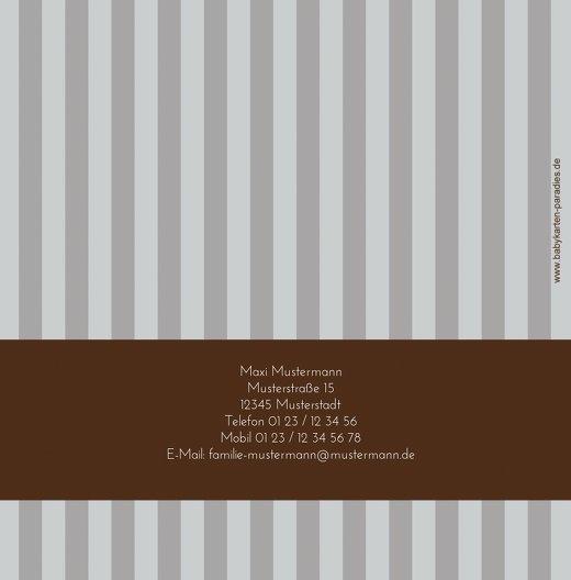 Ansicht 2 - Kommunion Danke stripes-buttons