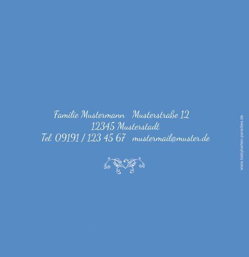 Ansicht 3 - Konfirmation Einladungskarte Vogel