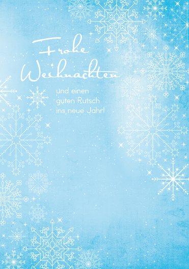 Ansicht 3 - Grußkarte Wintertraum