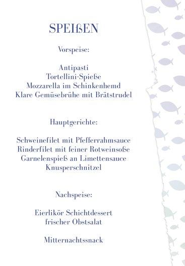 Ansicht 5 - Konfirmation Menükarte Himmelreich