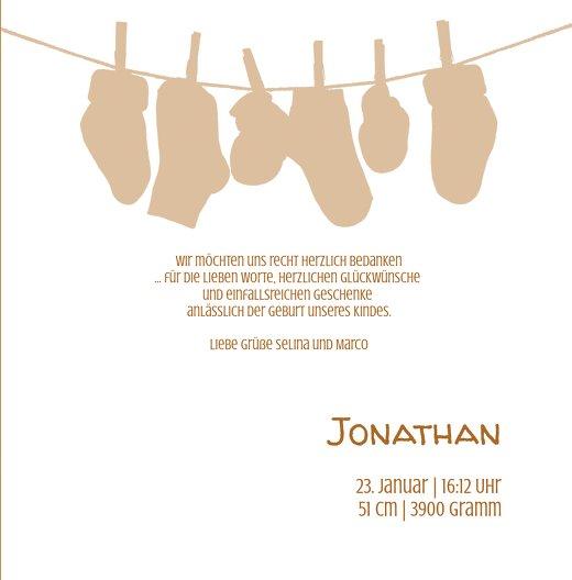 Ansicht 5 - Baby Dankeskarte It's a boy