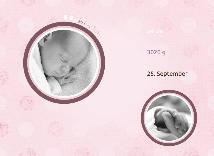 Ansicht 4 - Baby Dankeskarte da bin ich