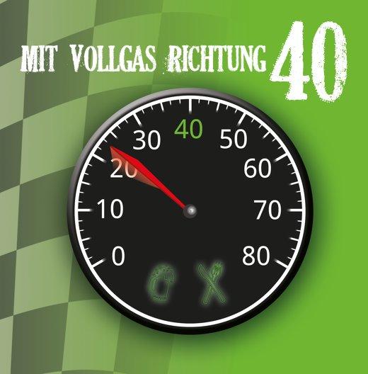 Ansicht 3 - Geburtstagseinladung Vollgas 40