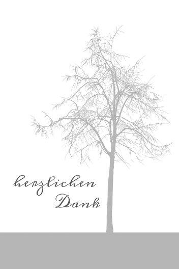 Ansicht 3 - Dankeskarte Tree