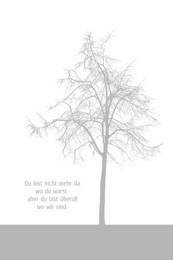 Ansicht 4 - Dankeskarte Tree