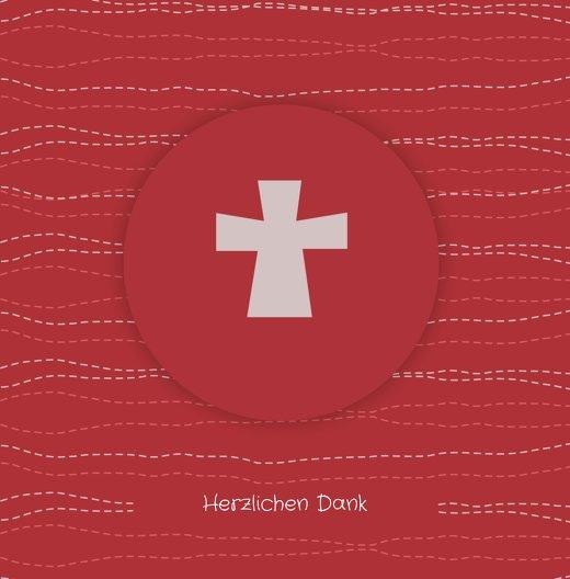 Ansicht 3 - Firmung Danke Wellen Kreuz