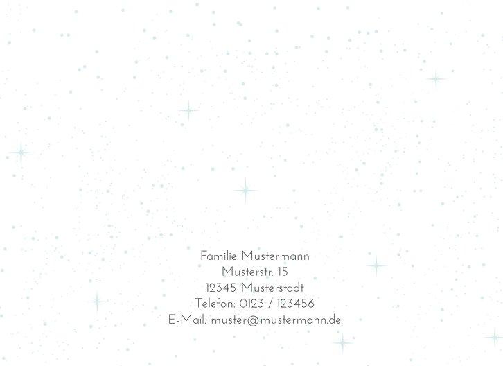 Ansicht 2 - Foto Einladung Sternenglanz