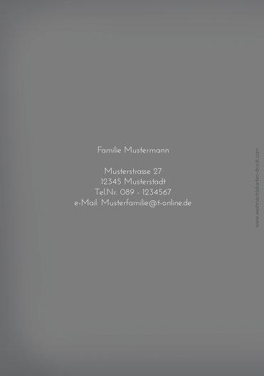Ansicht 2 - Grußkarte Buchstabenmütze