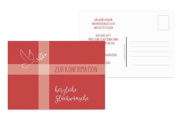 Glückwunschkarte zur Konfirmation Karte Konfirmationskarte Grusskarte  #11-1453