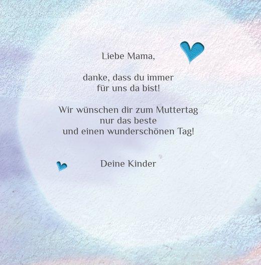 Ansicht 5 - Muttertagskarte Bokeh