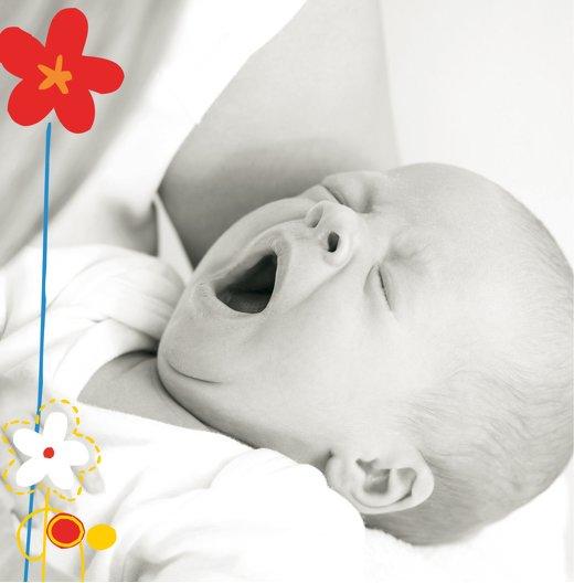 Ansicht 2 - Baby Dankeskarte Zauberblumen
