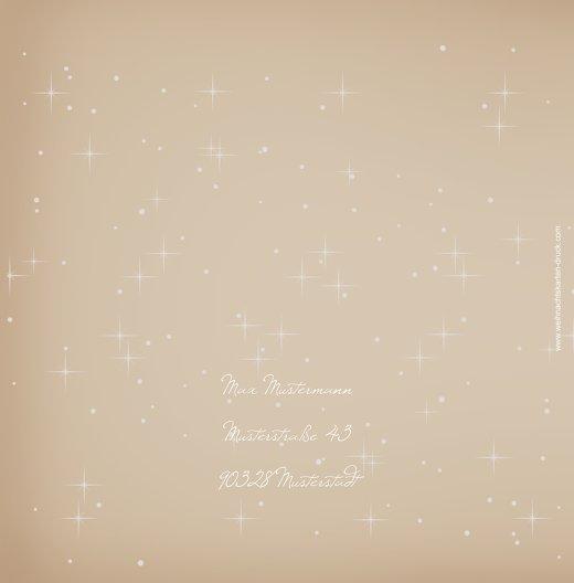 Ansicht 2 - Einladung Sternenhimmel