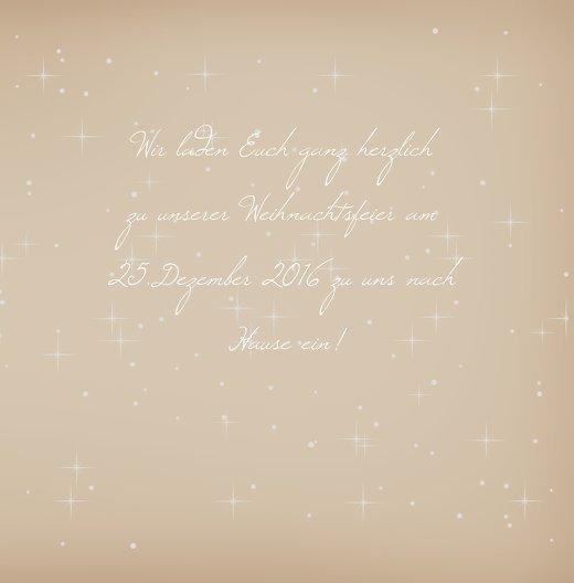Ansicht 5 - Einladung Sternenhimmel
