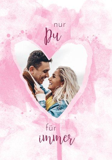 Ansicht 3 - Valentinskarte Herzenstraum