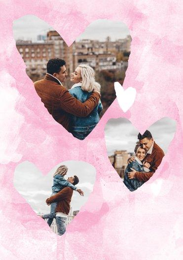 Ansicht 4 - Valentinskarte Herzenstraum