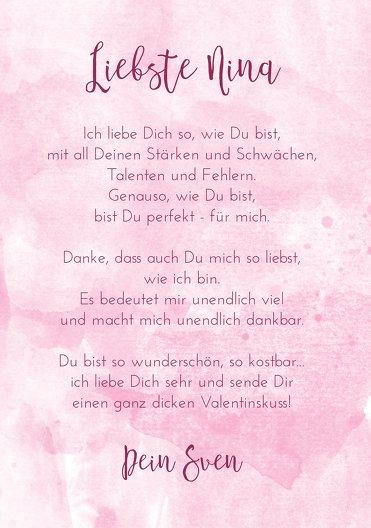 Ansicht 5 - Valentinskarte Herzenstraum
