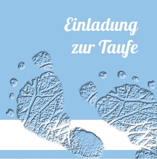 Ansicht 4 - Taufekarte Footprints