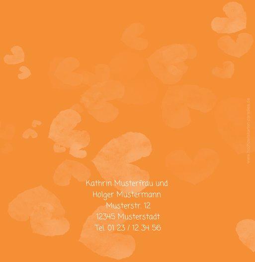 Ansicht 3 - Hochzeit Einladung Liebesglück