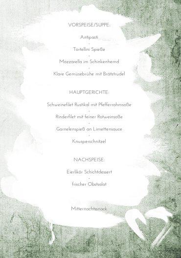 Ansicht 5 - Hochzeit Menükarte Du + Ich = Liebe