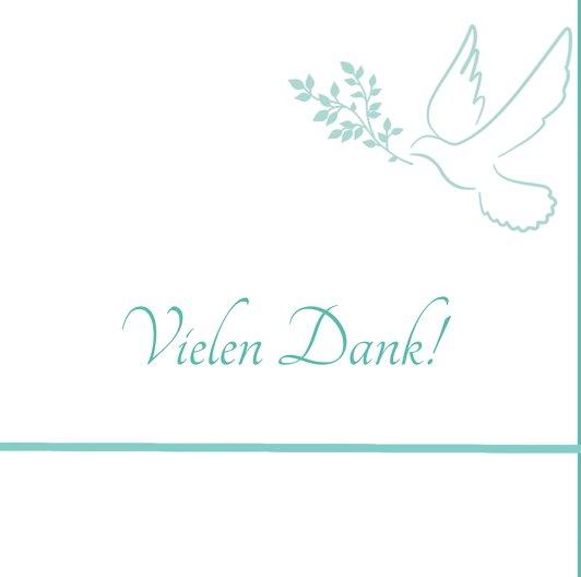 Ansicht 5 - Konfirmation Dankeskarte floral
