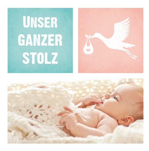 Ansicht 4 - Baby Dankeskarte Stolz