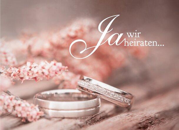 Ansicht 3 - Hochzeit Einladung Ringe
