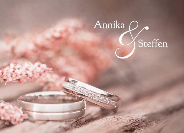 Ansicht 4 - Hochzeit Einladung Ringe