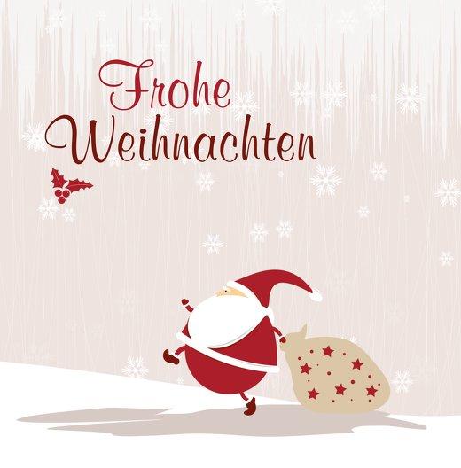 Ansicht 3 - Foto Grußkarte Weihnachtsmann
