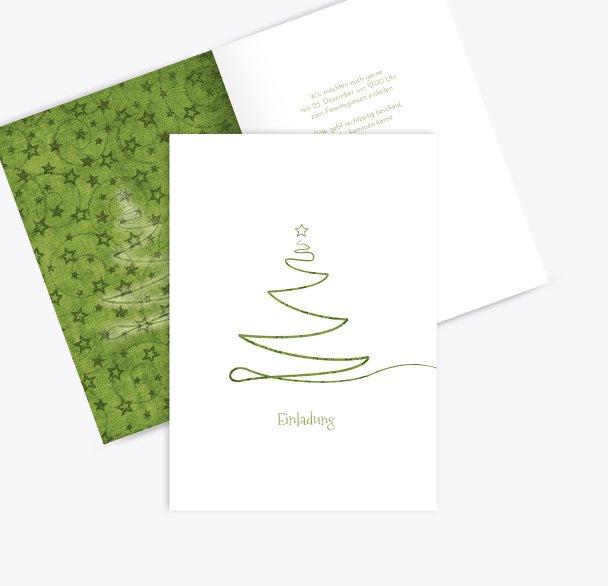 Einladung Linienbaum