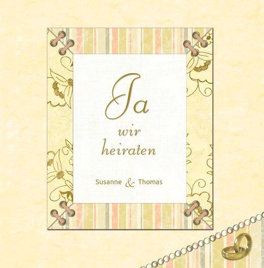 Ansicht 3 - Hochzeit Einladung Bund für's Leben