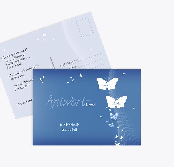 Hochzeit Antwortkarte Traumpaar