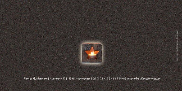 Ansicht 2 - Foto Grußkarte Adventszeit