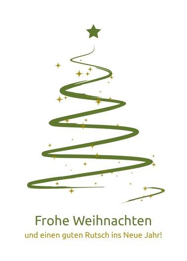 Ansicht 2 - Weihnachtsgrußkarte Wunderbaum