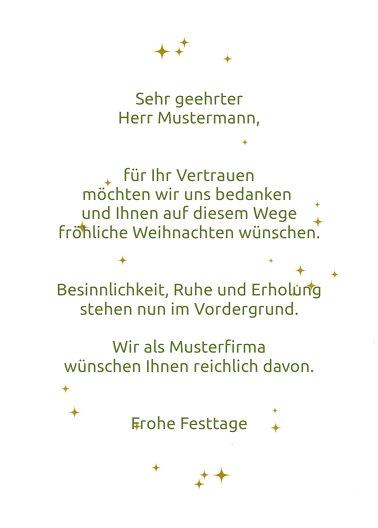Ansicht 3 - Weihnachtsgrußkarte Wunderbaum