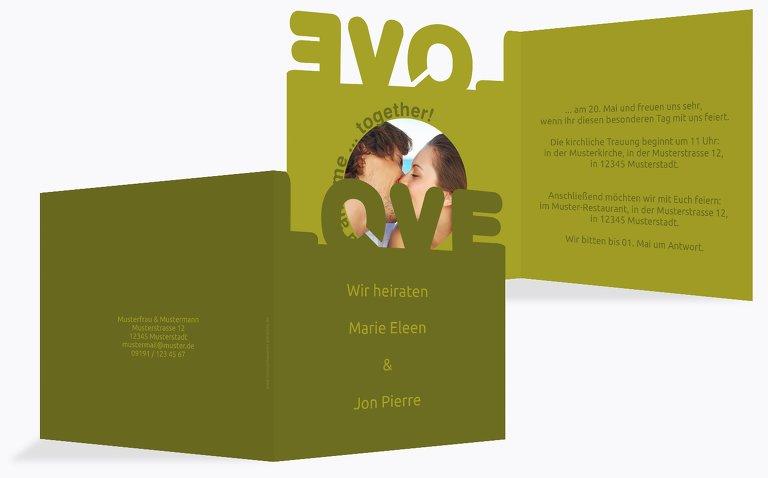 Kontur Einladung Love2