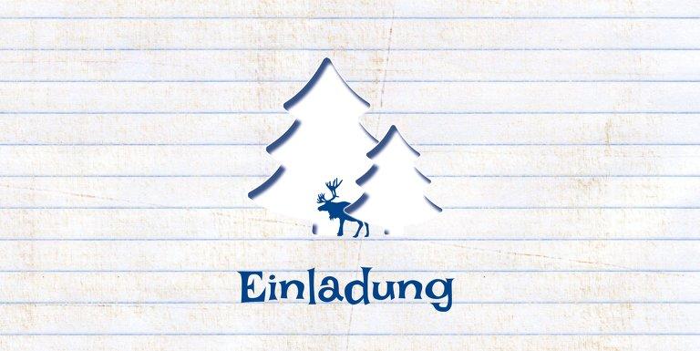 Ansicht 3 - Einladung Elchenwald