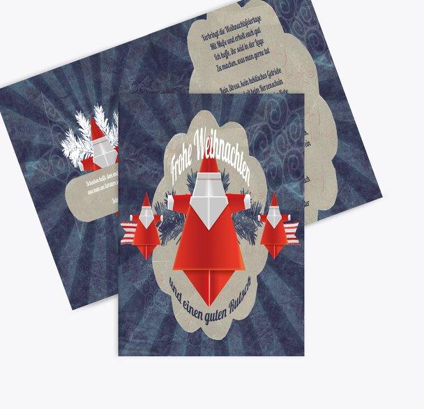 Grußkarte Origami