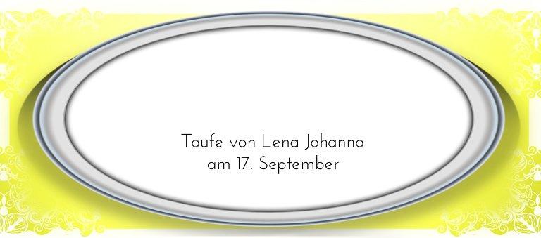 Ansicht 3 - Taufe Tischkarte Oval Frame