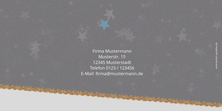 Ansicht 2 - Weihnachtsgrußkarte Farbbäumchen