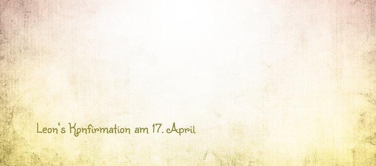 Ansicht 3 - Konfirmation Tischkarte grunge Engel