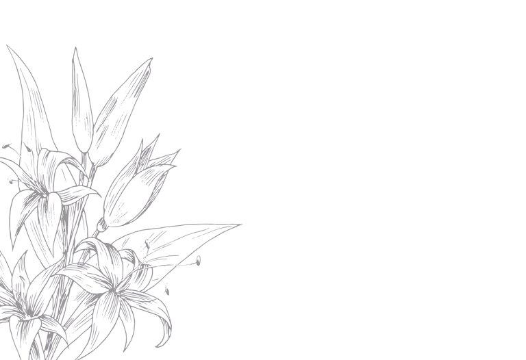 Ansicht 4 - Dankeskarte Lilien