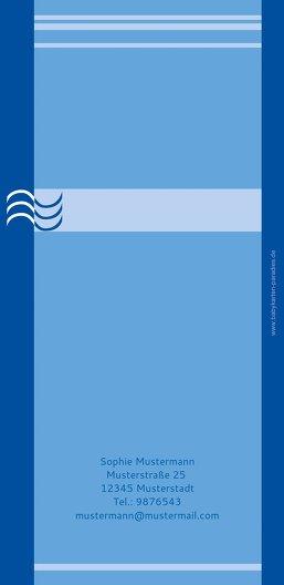 Ansicht 2 - Dankeskarte Lebenswasser