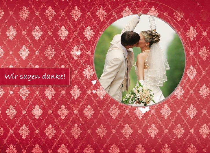 Ansicht 3 - Hochzeit Danke 3 Liebesbündnis