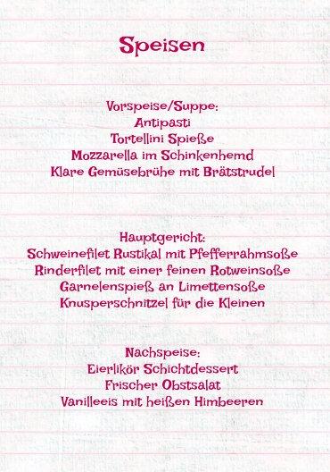 Ansicht 5 - Menükarte Elchenwald