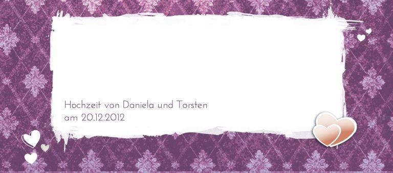Ansicht 3 - Hochzeit Tischkarte Liebesbündnis
