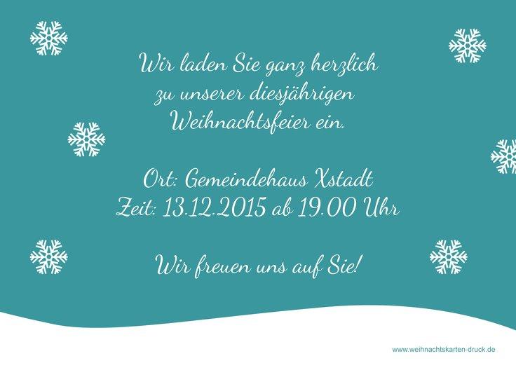 Ansicht 3 - Einladung Schneemann