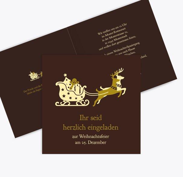 Einladung Kutsche
